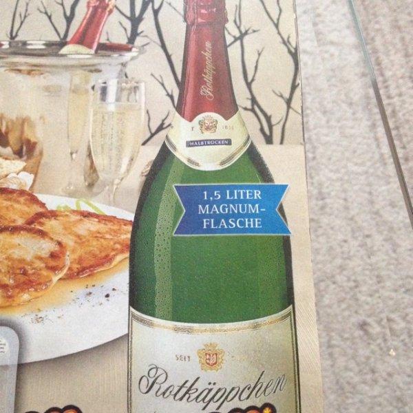 [Netto ohne Hund bundesweit] 1,5L Magnum Rotkäppchen Flasche für 6,99€ - Silvesterkracher
