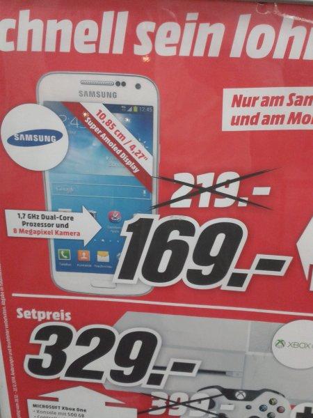 Samsung S4 mini (schwarz oder weiß) 169€