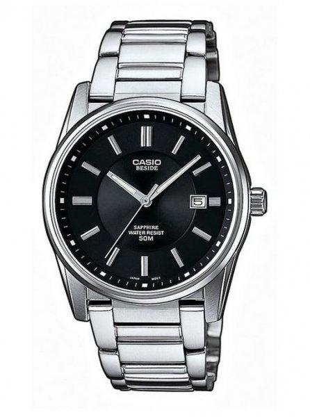 Klassische Casio Uhr mit Saphirglas! Collection Analog Quarz BEM-111D-1AVEF
