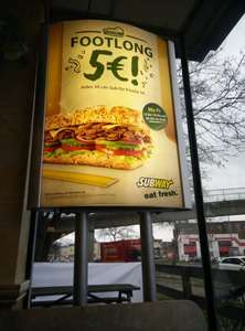 Subway MG Footlong Sub 5€