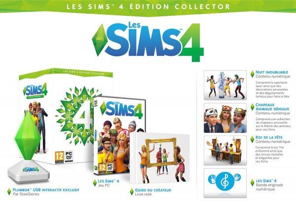Die Sims 4 - Collector's Edition für 54,20 @Amazon.fr