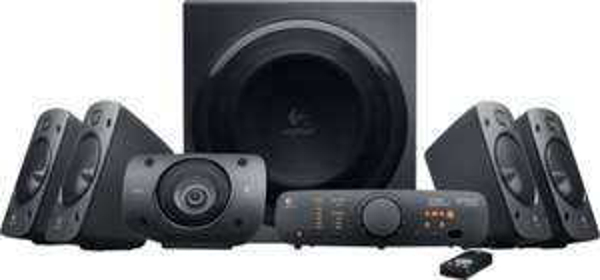 Logitech Z906 5.1 Lautsprechersystem THX und Dolby Digital 165€