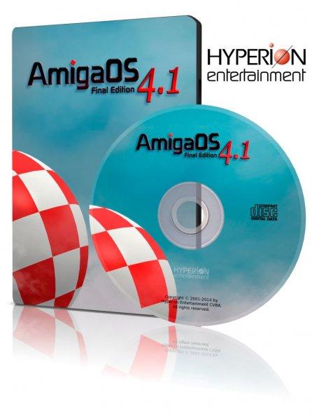 AmigaOS 4.1 Final Edition auf DVD für 29,95 Euro (plus Porto) erhältlich