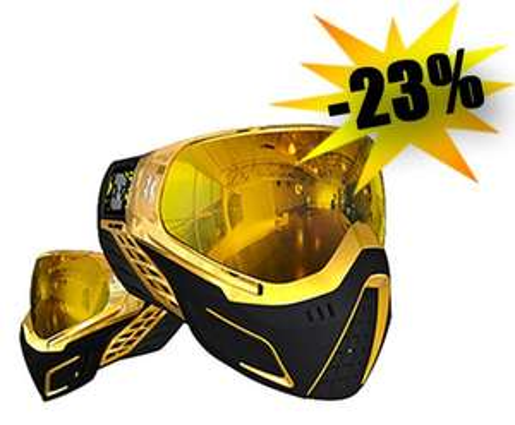 Paintball Maske HK Army KLR Goggle Farbe: gold für 99,99€ + 2,50€ VSK @ paint-xtreme.com