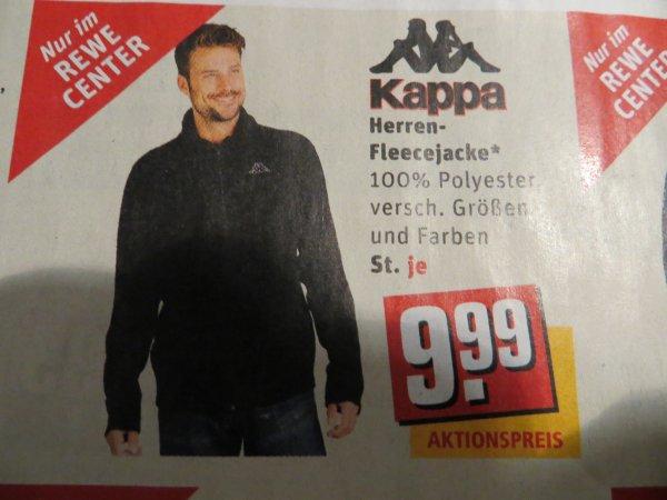 Kappa Fleecejacke - 9,99 € - ab 22.12.2014 - Rewe-Center - lokal - Saarburg