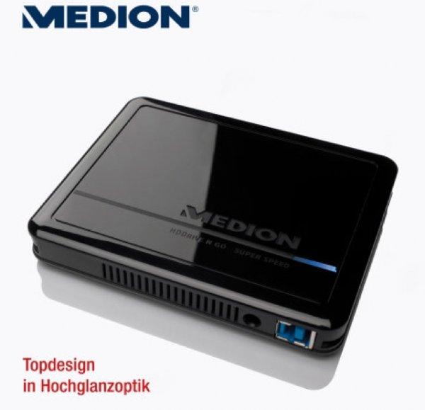 "Aldi Nord 6,35 cm/2,5"" externe Festplatte 1 TB (1.000 GB¹). USB 3,0"
