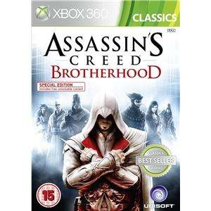 Assassin's Creed: Brotherhood X360&PS3 für 12,49€ inkl. Versand bei Play.com