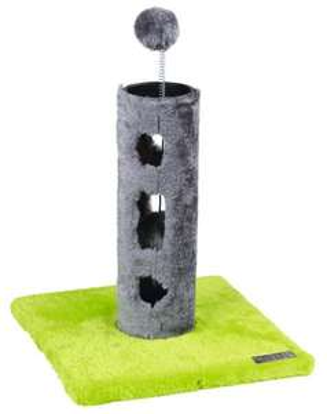 (d-living) Kerbl Kratzbaum Mira 81511, grün/grau für 4,95€