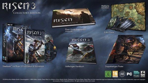 @Amazon Blitzangebote Risen 3: Titan Lords Collector's Edition (PC)