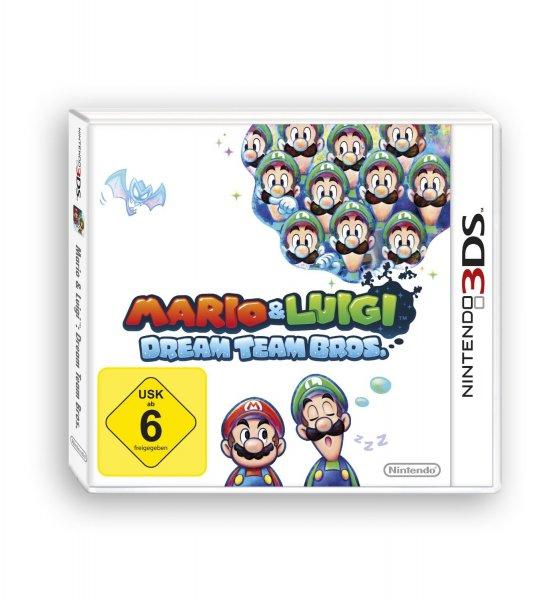 [Amazon] Mario & Luigi: Dream Team Bros. (3DS) für 19,97€ (ohne Prime 22,97)