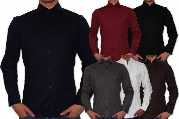 (ebay) BRAGGA HILL Herren Slim Fit Hemd ab 12,90€