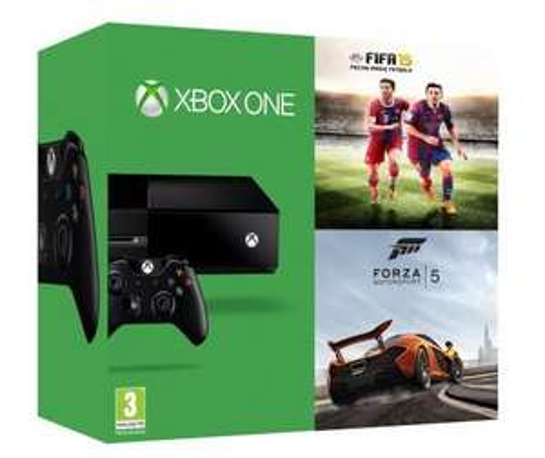 (Saturn Online) Xbox One inkl.  Fifa15 + Forza Horizon 2 = 379,00€ inkl. Versand