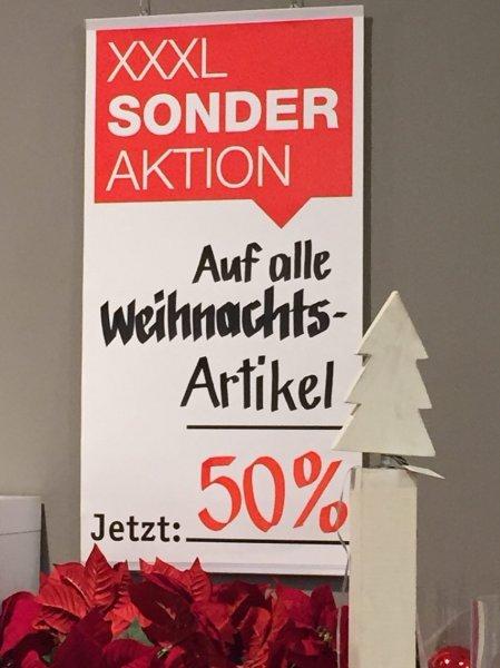 [Lokal Nürnberg?] XXLUTZ: 50% auf alle Weihnachtsartikel