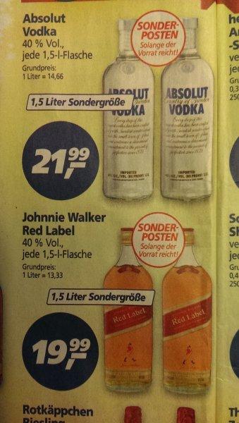 Absolut Vodka 1,5 Liter Sondergröße Real-Potsdam nur Lokal?