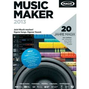 [Erinnerung Chip Adventskalender 2014 #21] Magix Music Maker 2013