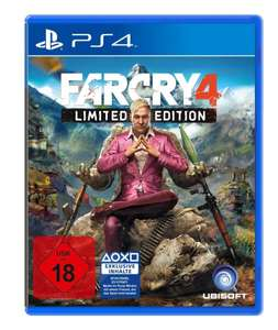 Far Cry 4 Limited Editon  PS4 / XBOX ONE Gamestop Adventskalender 22.12.14 (Lokal @ Gamestop)