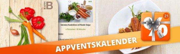 Go Veggie heute im Appdeals Adventskalender erstmals 1,99€ (iOS,Android)