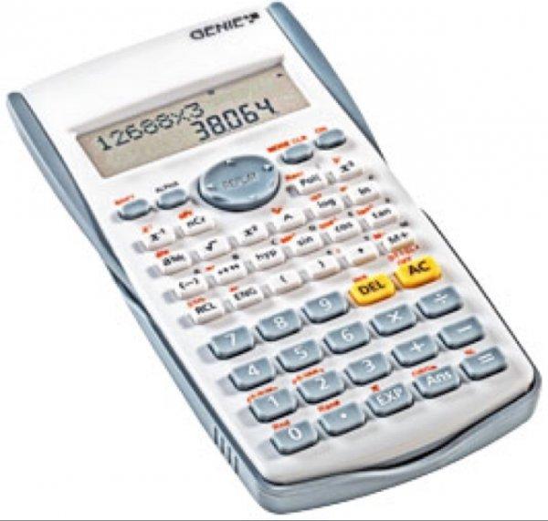 3,99€ Genie Wissenschaftlicher Taschenrechner [Kaufland] ab 29.12