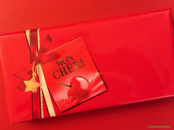 Mon Cherie in der Weihnachtspackung [Kaufland]