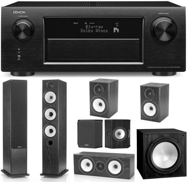 Denon AVR-X5200 [Schwarz] und Monitor Audio BX 7.1 für 2555€ bei Soundpick.de