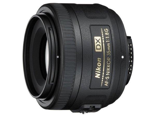 Amazon: Nikon AF-S DX Nikkor 35mm 1:1,8G Objektiv (52mm Filtergewinde)