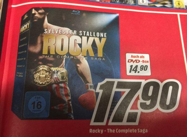 [Lokal MM Lichtenfels] Rocky Complete-Saga (BluRay) für 17,90-