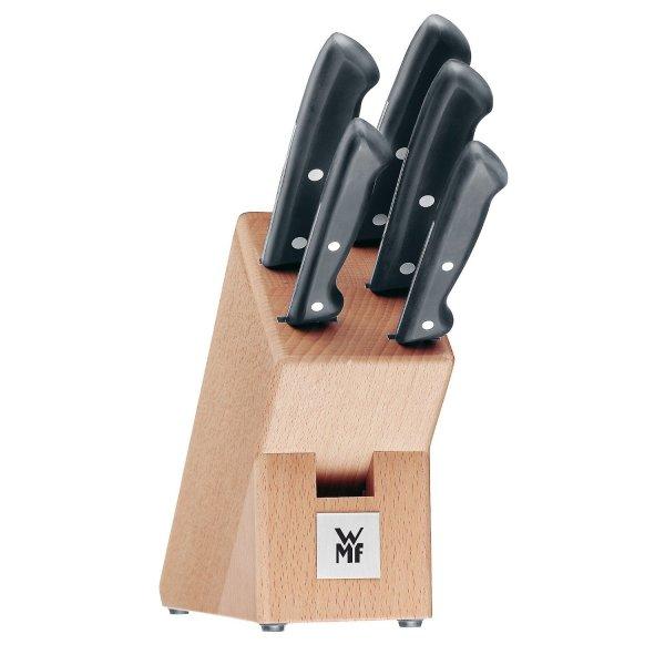 (Amazon) WMF 1874699990 Messerblock 6-teilig Classic Line, Buche für 49,99€!