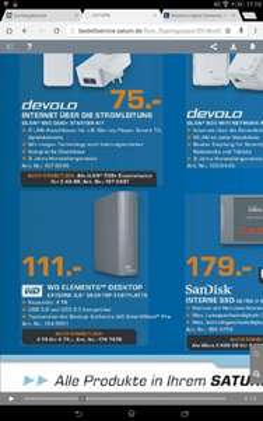 Neuer Deal Bundesweit Offline Saturn WD Elements™ – Desktop-Festplatte mit 4 TB und USB 3.0 als Plug-and-Play-Speicher 111 Euro