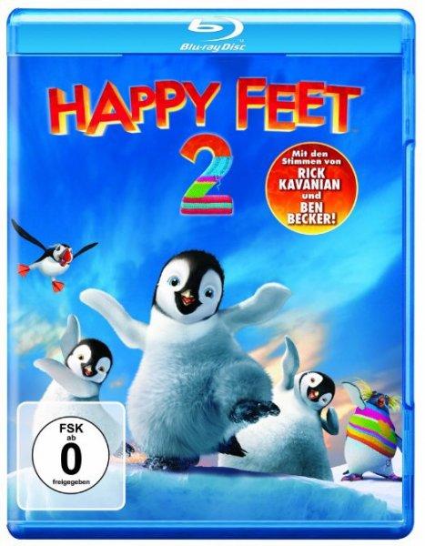 [Amazon] Happy Feet 2 (Blu-Ray) für Primekunden + weitere Titel um 5 €