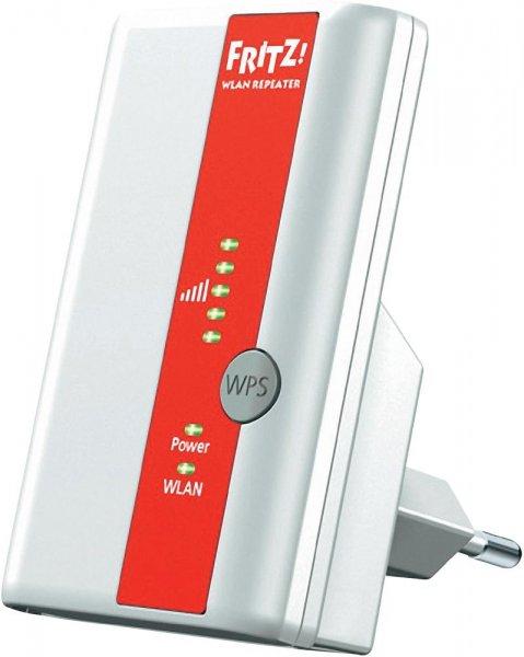 AVM WLAN Repeater 300 MBit/s 2.4 GHz FRITZ!WLAN 310 für 30,44 Euro @Voelkner.de