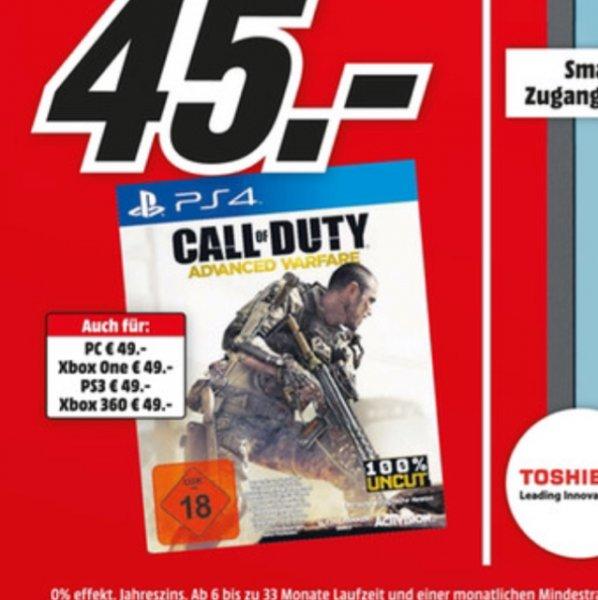 Call of Duty Advanced Warfare 45 Euro für PS4