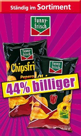 [Norma offline Bundesweit] funny-frisch Peperoni oder ungarisch 44% billiger