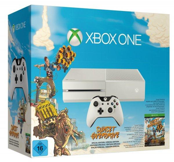 Xbox One (weiss) inkl. Sunset Overdrive & Call of Duty: Advanced Warfare für 380€ @Amazon.de
