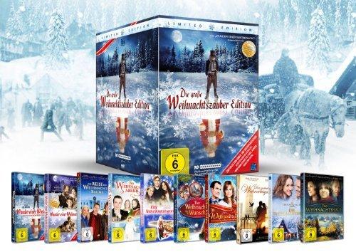 Die große Weihnachtszauber Edition Familie / Gesellschaft DVD  10 DVD´s