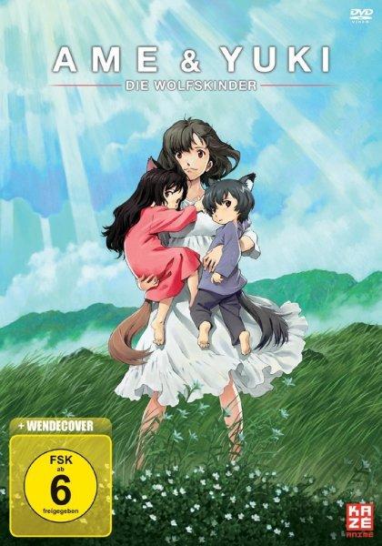 [Anime-Tipp] Ame & Yuki - Die Wolfskinder (2012) @ARTE+7