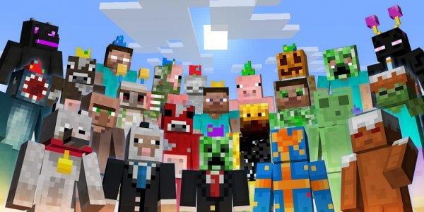 Minecraft PS3/PS4 Gratis Geburtstags Skin