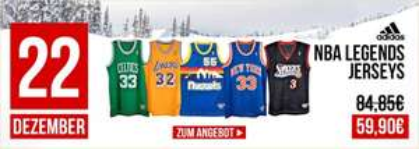 NBA LEGENDS JERSEYS NUR 59,90€ @KICKZ.COM
