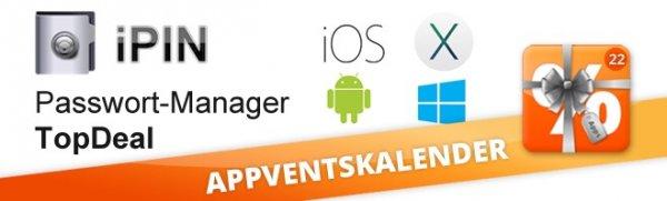 ipin Passwort Manager heute bei appdeals (iOS,Android,Mac und Win)