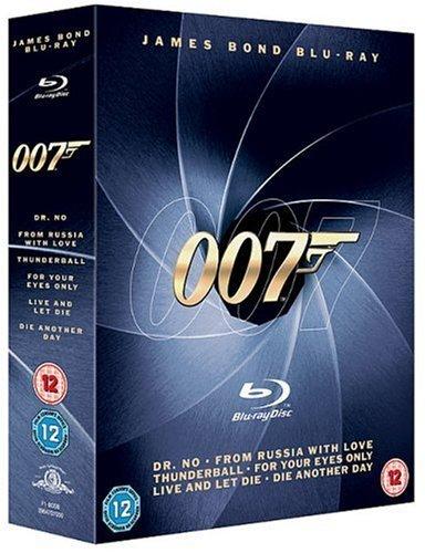 James Bond Blu-ray Collection (6 Discs) [Blu Ray] inkl. Vsk für ~ 18 € > [amazon.uk]