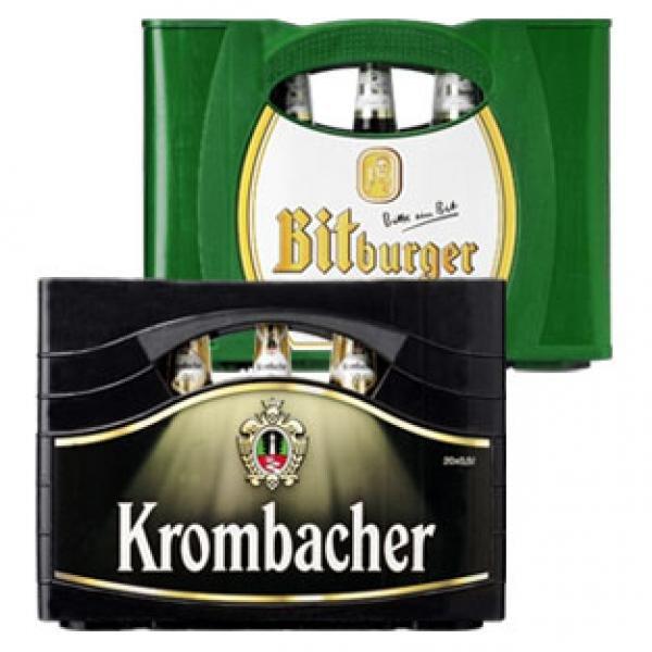 Oldenburg - Krombacher und Bitburger versch. Sorten - bei AktivIrma (Plopp)