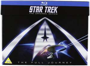 Star Trek: The Original Series - The Full Journey - Staffel 1-3 [Blu Ray] inkl. Vsk für ~ 63 € > [amazon.uk]