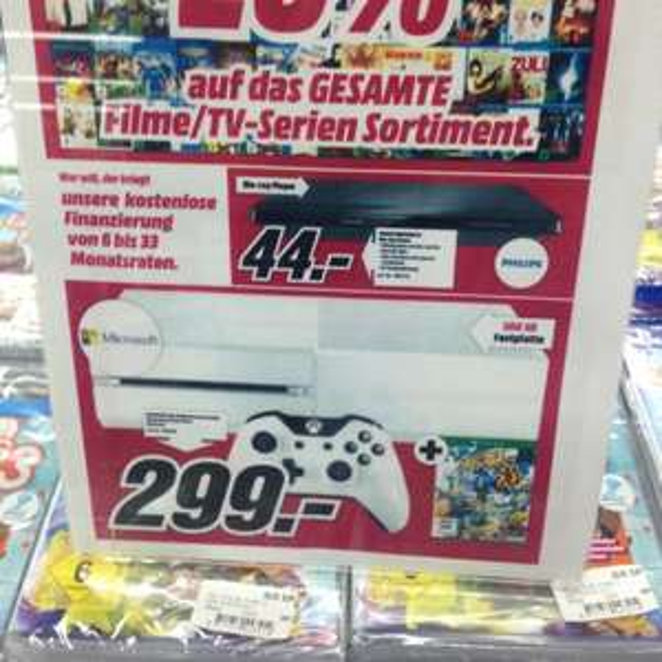 Xbox one mit Sunset Overdrive (lokal Media markt Porta Barkhausen)