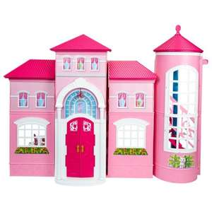 Barbie Traumhaus - Real Marktanlieferung 59,- € oder real.de 64,- € - Idealo ab 96,- €
