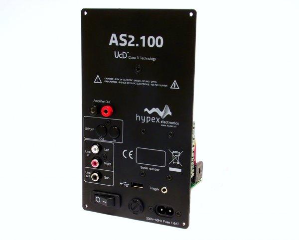 Hypex AS2.100 - aktives 2-Kanal Verstärkermodul, digital -