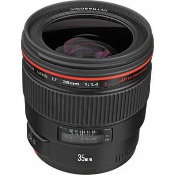 [Amazon Blitzangebot] Canon EF 35mm f/1.4 L USM Objektiv