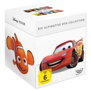 Disney Pixar Collection (18 DVDs) ab 54€ @real.de