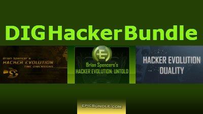 Hacker Evolution Reihe (STEAM), 1,22€ (für 1.27€ gibt's die gamekeys doppelt), dailyindiegame.com