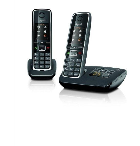Gigaset C 530 A DUO Schnurlostelefon mit Anrufbeantworter und 2. Handteil/Ladeschale - 61,46 € @ amazon.fr / Idealo ab 79,99