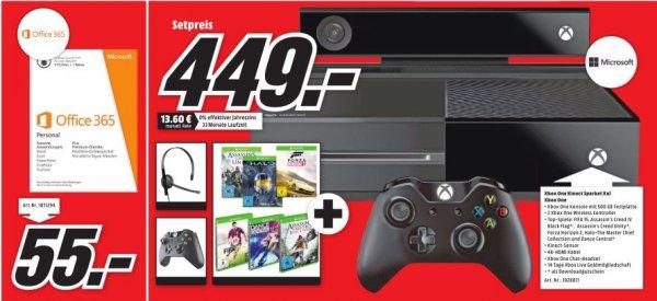 Xbox One Hammer Mega Paket im MM Pforzheim 449,- Euro