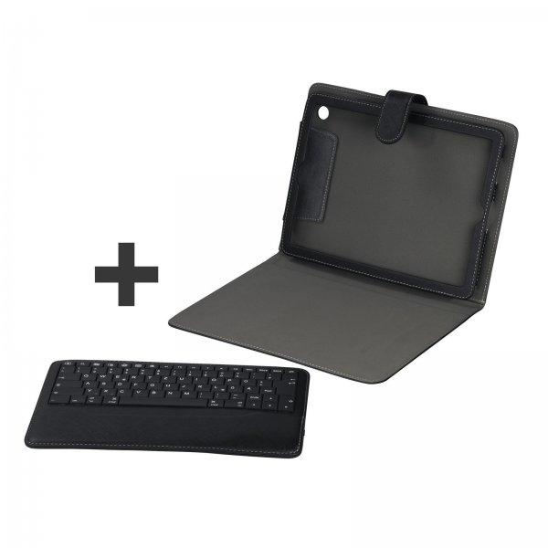 Hama Bluetooth Tastatur + Portfolio (Tasche Case) für Apple iPad 1/2/3/4 inkl. Vsk 19,90 € > [ebay.de]